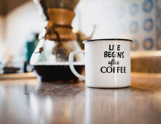 Kaffee macht glücklich
